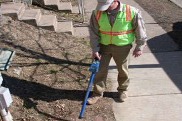 gpr used as a pipe and cable locator